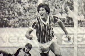 Na conquista do Mundial 83 o Grêmio vestiu Adidas