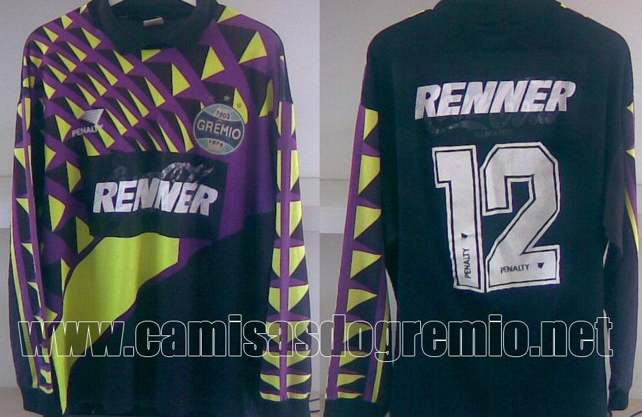 19ee1f10c2 Goleiro 1995 – Penalty – Camisas do Grêmio