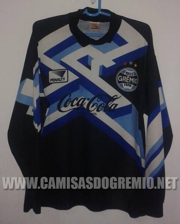 2d315671e5 Goleiro Preta 1994 – Penalty – Camisas do Grêmio