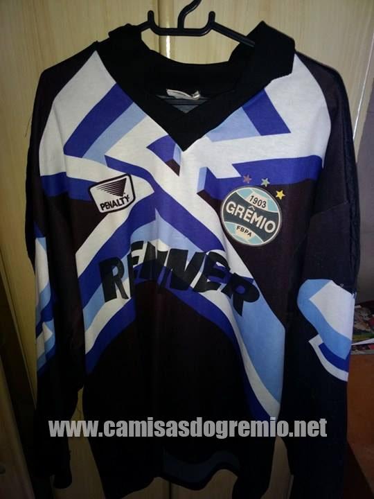 b1bc25337b Goleiro Preta 1995 – Penalty – Camisas do Grêmio